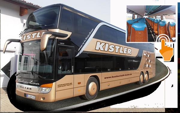 bustouristik kistler 75 sitzer s 431 dt. Black Bedroom Furniture Sets. Home Design Ideas